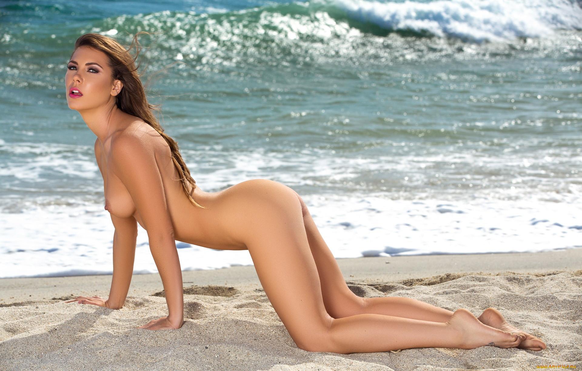 Голые Сучки На Пляже